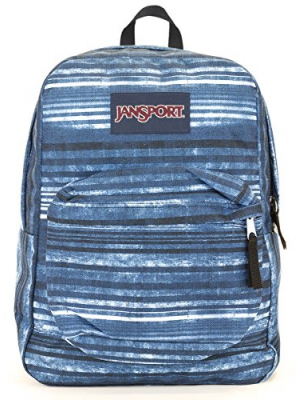 Jansport Superbreak Backpack (multi variegated stripe)