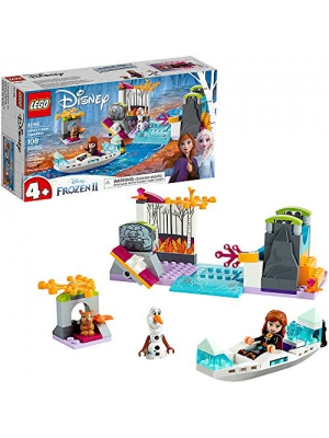 LEGO Disney Frozen II Anna's Canoe Expedition 41165 Frozen Adventure Easy Building Kit, New 2019 (108 Pieces)