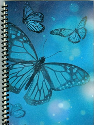"Mystical Butterflies 5 x 7"" Sticker Collecting Album, Re-usable Pages,!"