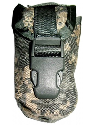 US Military MOLLE II Flashbang Grenade Pouch (ACU, MultiCam, or Desert Camo)