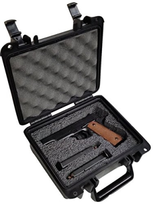 Pre-Customized Waterproof Pistol Case by Case Club