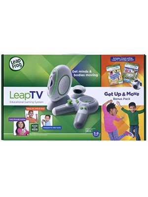 LeapFrog LeapTV Educational Gaming System including 2 Best-selling Leap-TV Cartridge Games