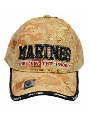 US Marines Corps Few Proud Military USA Digital Camo Camouflage Licensed Hat Cap