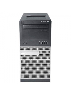 2018 Dell Optiplex 7010 Minitower High Performance Business Desktop Computer, Intel Quad-Core i5-3470 Up to 3.6GHz, 8GB RAM, 128GB SSD+2TB HDD, DVD, USB 3.0, Windows 7 Pro (Certified Refurbished)