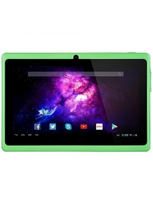 Alldaymall A88X 7'' Tablet Android 4.4 Quad Core HD 1024x600, Dual Camera Bluetooth Wi-Fi, 8GB 3D Game Supported - Green