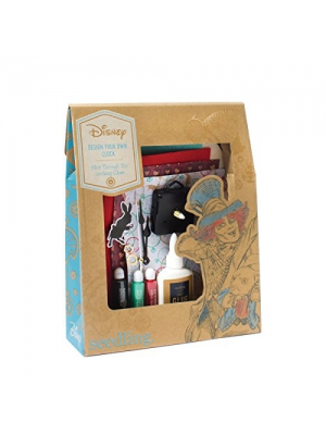 Seedling Disney's Alice Through The Looking Glass Design Your Own Clock Kit