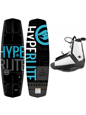 New 2018 Hyperlite Wakeboard Machete with Destroyer Wakeboard Bindings Fits Most Shoe Sizes