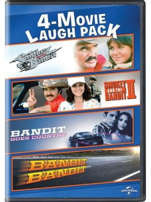Smokey and the Bandit/Smokey and the Bandit II/Bandit Goes Country/Bandit, Bandit 4-Movie Laugh Pack
