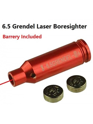 Field Sport 6.5 Grendel Laser Bore Sighter Boresighter For AR15 Grendel, Auuminum Red Finish