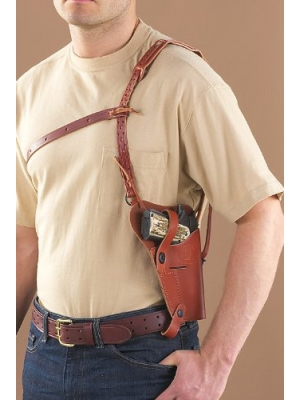Military-Style Shoulder Holster 1911A1 .45/ Beretta 92F 9mm Right Hand