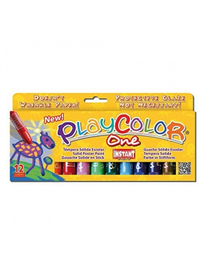 Jack Richeson 2610731 Paycolor Kids Poster Paint 12 Colors, Solid