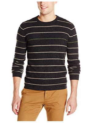 Christopher Fischer Men's Pop Color Thin-Stripe Sweater