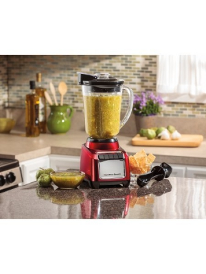 Hamilton Beach Wave Action Blender (Red)