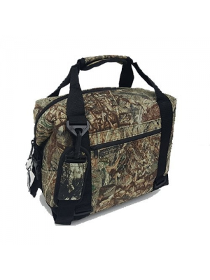 Polar Bear Coolers Nylon Line - Quality Like No Other From the Brand You Can Trust - See Touch & FEEL the Polar Bear Difference - Patent Pending - 24 Pack Duck Blind Camo