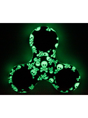 TSAAGAN Novelty Colourful Hand Spinner Glowing Fidget Spinner Fidget Toy