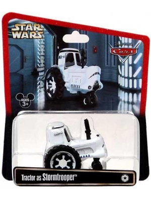 Disney Cars Star Wars Tractor as Stormtrooper Disney Mattel 1:55 Scale Limited Edition