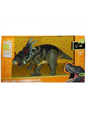 Animal Planet Light and Sound Dinosaur - Styracosaurus