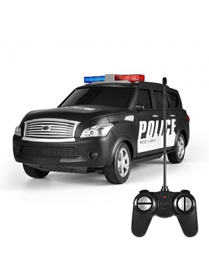 Remote Control RC Police SUV Vehicle 1:16 Scale Full Function Radio Control