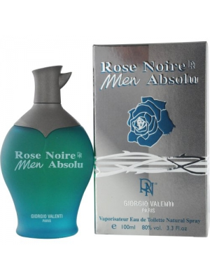 Rose Noire Men Absolu by Giorgio Valenti,Eau De Toilette Spray 3.3 Ounce