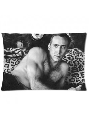 "Custom Nicolas Cage Pillowcase Standard Size 20""X30"" Design Pillow Case Cover"