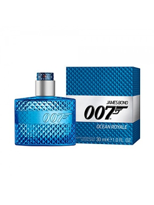 JAMES BOND 007 EDT Spray for Men, Ocean Royale, 1 Ounce