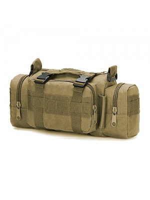 FAMI Utility 3P Military Tactical Duffle Waist Bags Tactical MOLLE Assault Backpack Multifunction Pockets Small EDC for Camping Hiking Trekking Riding