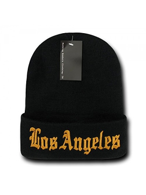 Nothing Nowhere City Los Angeles Beanies