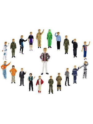 ZITA ELEMENT 13items= 10 Set Fashion Handsome Clothes+3 Pair Shoes outfit for Barbie's Boy Friend Ken Doll XMAS GIFT