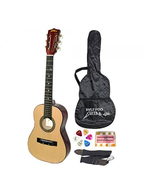 Updated Version 30-inch Beginner Acoustic Guitar w/ Carrying Case & Guitar Accessories, Strap, Tuner and Pick, Ideal for Beginners and Ready to Use Out of the Box