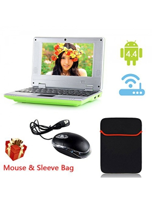 "eForprice 7"" Mini Notebook Laptop Computer Netbook Android 4.2 System 4GB Storage VIA 8880 Cortex-A9 1.2ghz Wifi Windows Hd Solid Black Mini Laptop 7 Inch Netbook Notebook Computer Tablet Pc, Installed Wifi and Camera, Watch News, Youtube Facebook Tw"