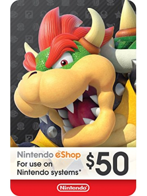 eCash - Nintendo eShop Gift Card $50 - Switch/Wii U/3DS [Digital Code]