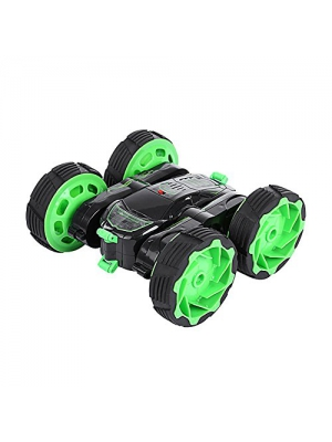 Stunt Car, SZJJX 4WD Remote Control Car Race RC Vehicle Double Sided Tumbling with LED Headlights Transformation 360¡ã Flips 3D Flip Deformation 360 Degree Spinning