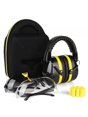 Tradesmart Ear Muffs, Earplugs and Adjustable Gun Safety Glasses