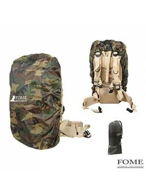 Backpack Rain Cover,FOME Nylon Backpack Rain Cover for Hiking/Camping/Traveling + A FOME Gift