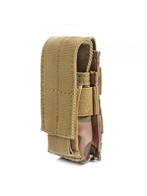 Tactical Pistol Mag Pouch Molle Quick Access Extra Ammo Clip Magazine Holder Bag