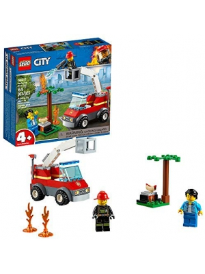 LEGO City Barbecue Burn Out 60212 Building Kit, 2019 (64 Pieces)