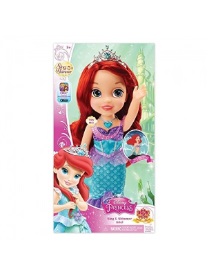 Disney Princess Sing and Shimmer Toddler Doll - Ariel