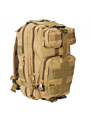 Military Tactical Backpack Small Army Backpack 3 Day Assault Pack Molle Bug Out Bag for Outdoor Hiking Camping Trekking Hunting Multiple Color