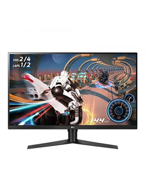 "LG 32GK650G-B 32"" QHD Gaming Monitor with 144Hz Refresh Rate and NVIDIA G-Sync"