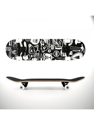 LZETC 31'' Complete Pro Skateboard Canadian Maple for