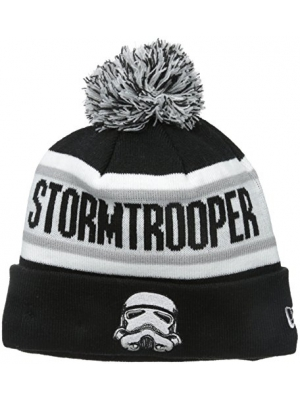 New Era Cap Men's Stormtroopers Biggest Fan Redux Pom Knit Beanie