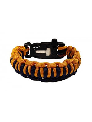 Paracord Survival Bracelet - US Military Appreciation Edition - Available in Fire Starter, Quick Deploy and Adjustable Buckles - Survival Gear With Military Colors