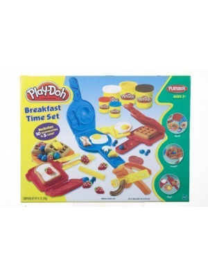Mold, Make, And Serve Up A Fun Play-Doh Breakfast! - Play-Doh Breakfast Time Set by Buengna
