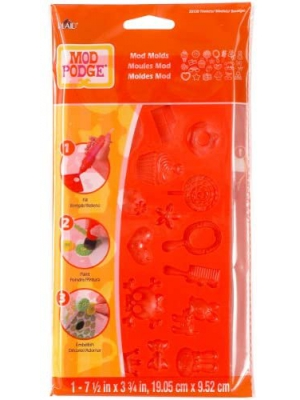 Mod Podge Mod Mold (3-3/4 by 7-1/2-Inch), 25130 Trinkets