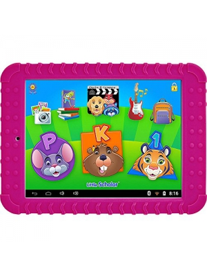 School Zone Little Scholar Learning Tablet. Over 200 Pre-Loaded Learning apps- Pink