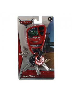 Disney Pixar Cars Character Child's Car Keys Child's Keys with Sounds and Beeps