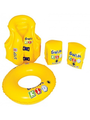 4 Piece Inflatable Swim Kid Learning Set