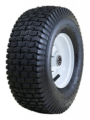 "Marathon 13x5.00-6"" Pneumatic (Air Filled) Tire on Wheel, 3"" Hub, 3/4"" Bearings"