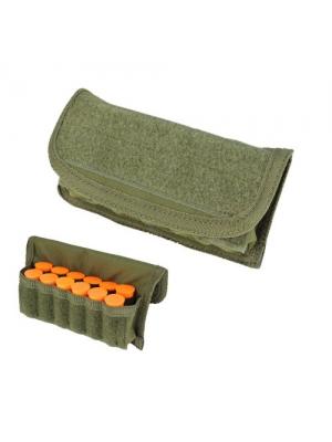 Condor MA12 Tactical MOLLE Shotgun Shell Pouch - OD Green