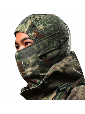 ABC® Camouflage Army Cycling Motorcycle Cap Balaclava Hats Full Face Mask (Green)